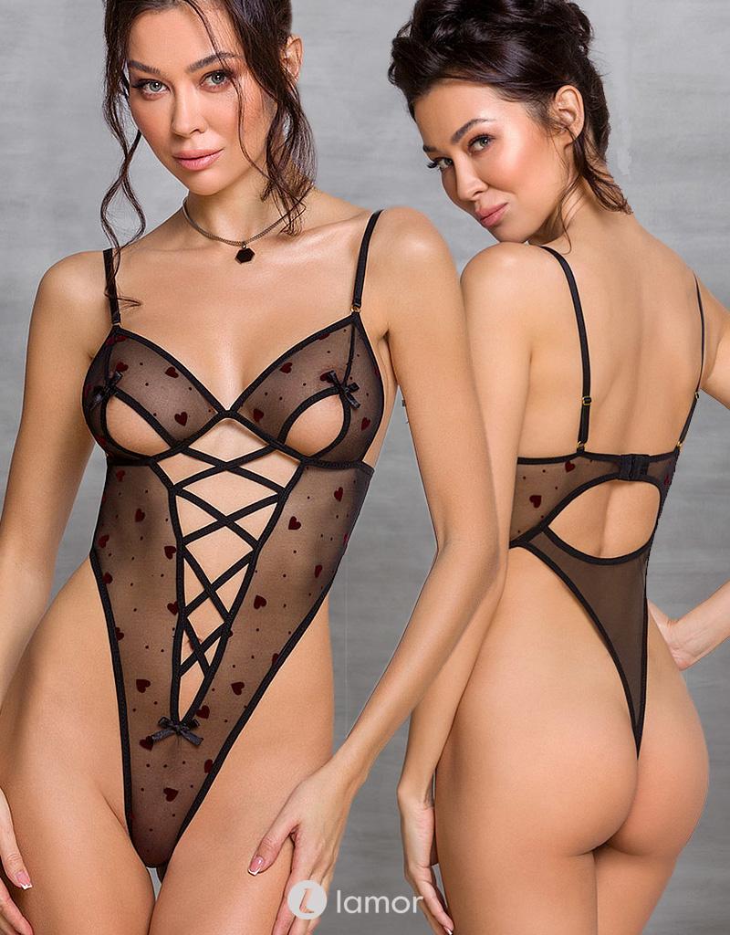 Zwarte Body Lovelia