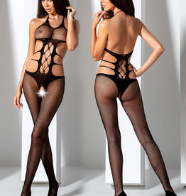 Zwarte bodystocking Ulla