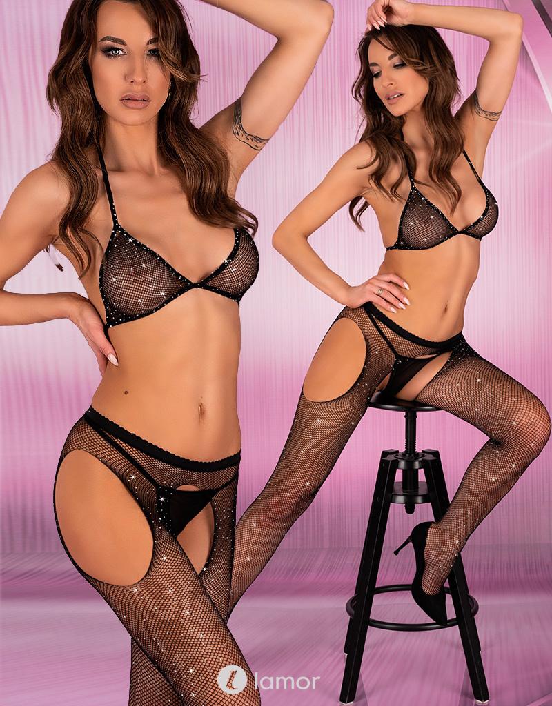 * LIVCO CORSETTI Beha top met strippanty Aphia