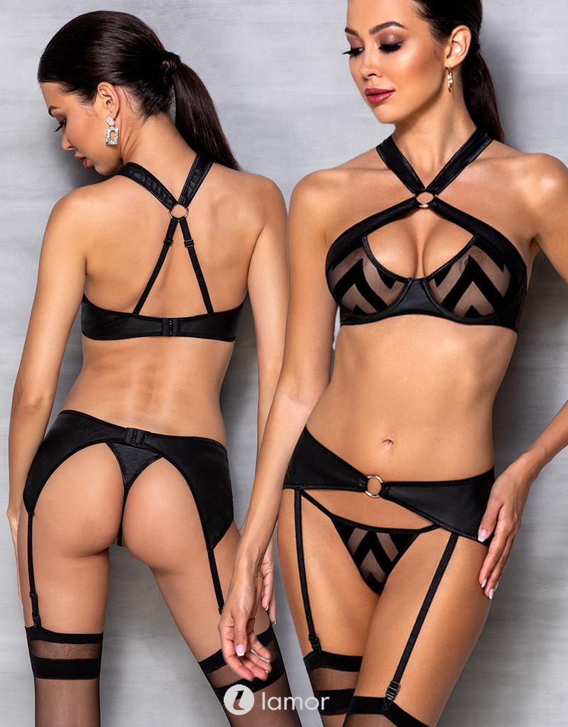 Image of 3-delige lingerie set Hima