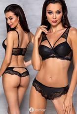 2-delige lingerie set in lederlook  Loona set van Passion