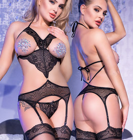 * CHILIROSE Sexy 4-delige bustier set