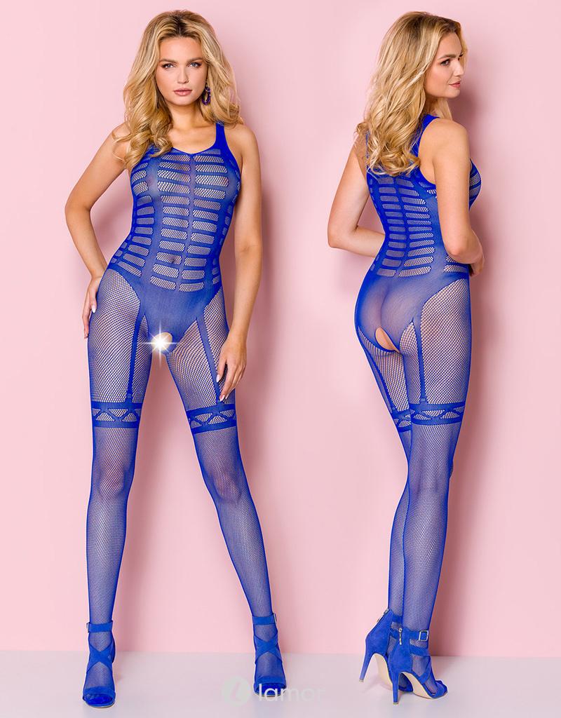 * Casmir Blauwe bodystocking Fiene van Casmir