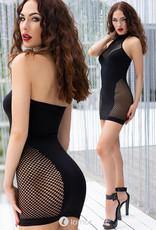 * CHILIROSE Naadloos halter mini jurkje CR-4435-B van Chilirose