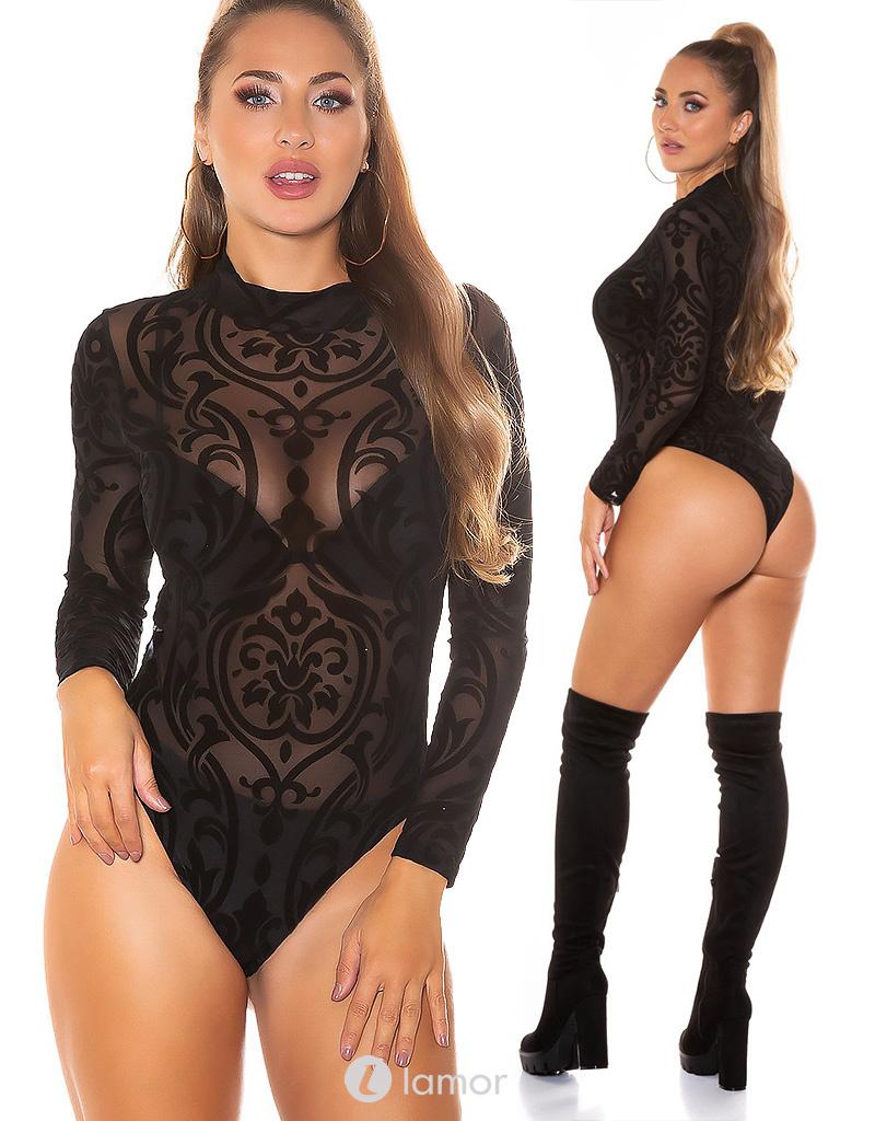 Sexy transparante Body Cathy