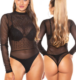 Sexy transparante Body Gweny