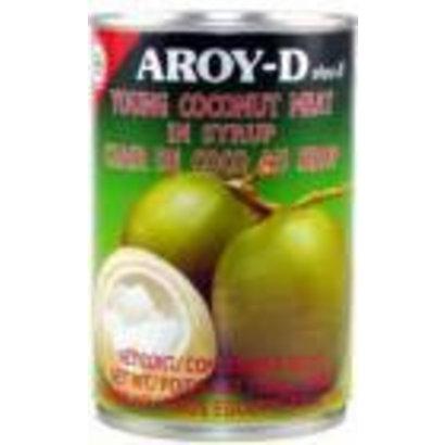 Aroy-D Jonge kokosvruchten op siroop