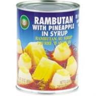 XO Rambutan en Ananas op siroop 565g