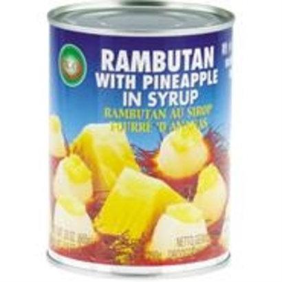 XO Rambutan en Ananas op siroop