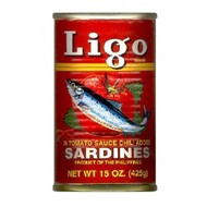 Ligo Sardines tomaten saus pikant 155g
