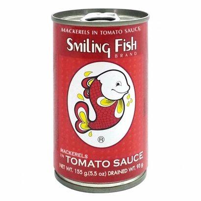 Smiling Fish Gebakken makereel in tomatensaus