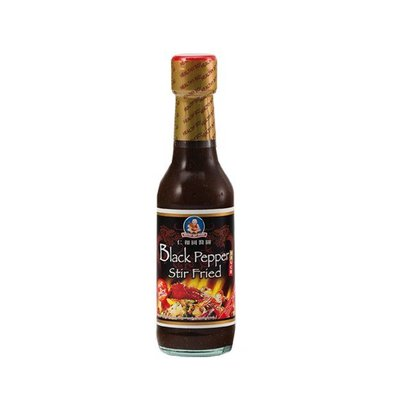 Healthy boy Zwarte peper woksaus