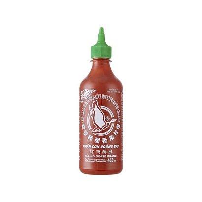 Flying Goose Sriracha saus met kaffir limoen