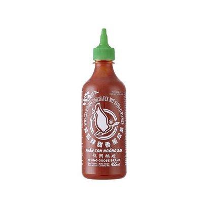 Flying Goose Sriracha saus met koriander