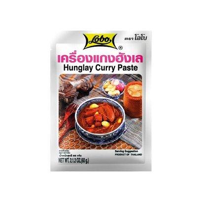 Lobo Hunglay curry pasta