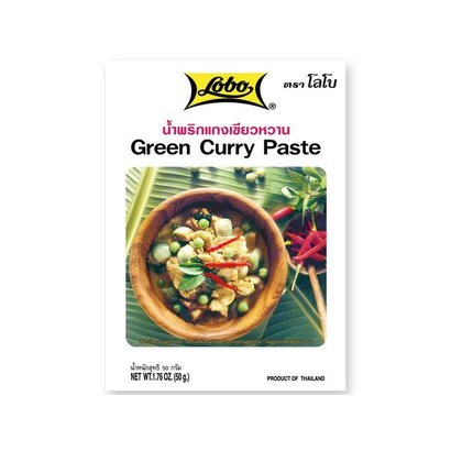 Lobo Groene curry pasta