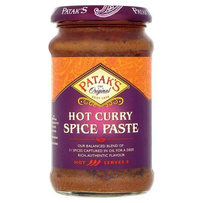 Patak's  Extra hete curry pasta