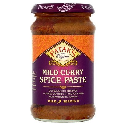 Patak's  Milde curry pasta