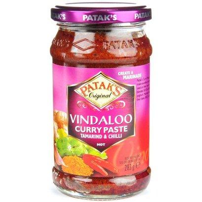 Patak's  Vindaloo pasta
