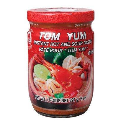 Cock Tom yum pasta