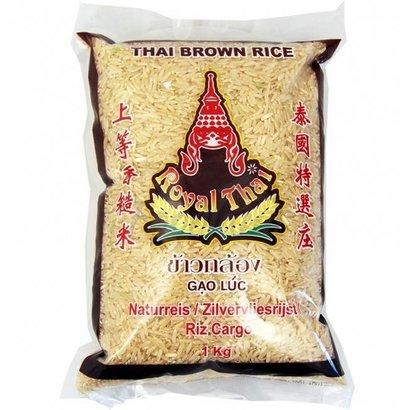 Royal Thai Bruine rijst/ zilvervliesrijst