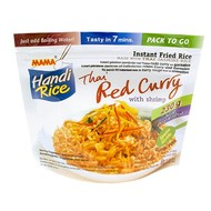 Mama Instant rijst met rode currysmaak 80g