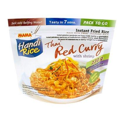 Mama Instant rijst met rode currysmaak