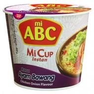 ABC Instant cup noedel kip/uiensmaak 60g (THT19/06/2020)