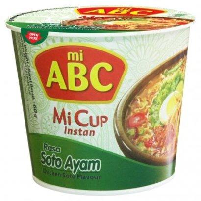 ABC Instant cup noedel kip/soto smaak