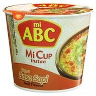 ABC Instant cup noedel rundersmaak 60g