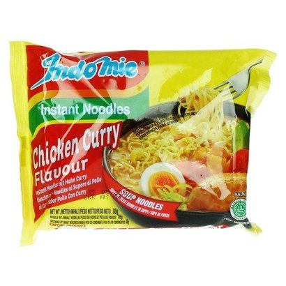 Indomie Instant noedel kip/curry smaak