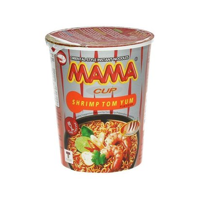 Mama Instant noedel cup tom yum smaak