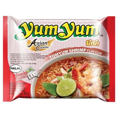 Yum yum Instant noedel tom yum smaak