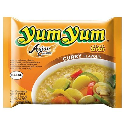 Yum yum Instant noedel currysmaak