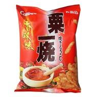 Calbee Pikante maissmaak snacks 80g