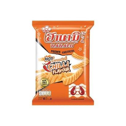 Hanami Garnalen crackers met chillismaak