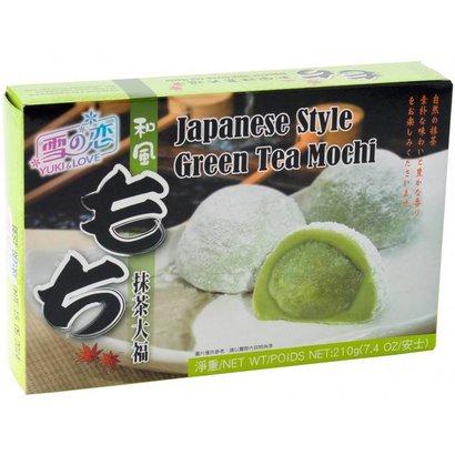 Y&L Mochi met groene thee japanse stijl 210g
