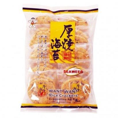 Want Want Zeewier rijstcrackers
