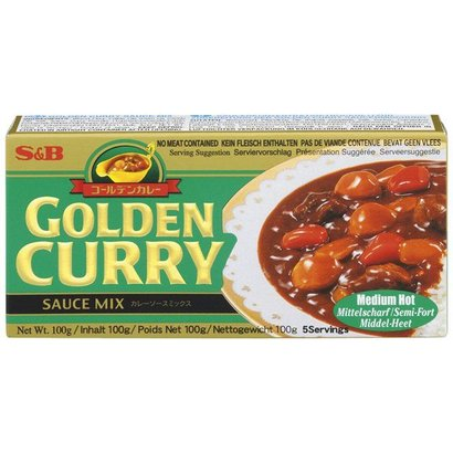 S&B Kruidenpasta Golden curry MEDIUM