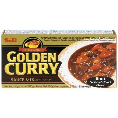 S&B Kruidenpasta Golden curry HOT