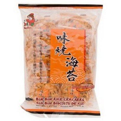 Bin bin Rijstcrackers met zeewiersmaak pikant