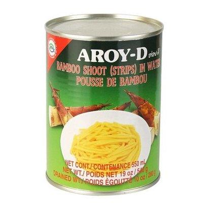 Aroy-D Bamboescheuten fijn gesneden