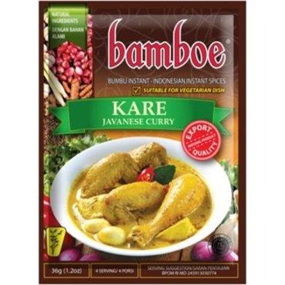 Bamboe Bumbu kare pasta