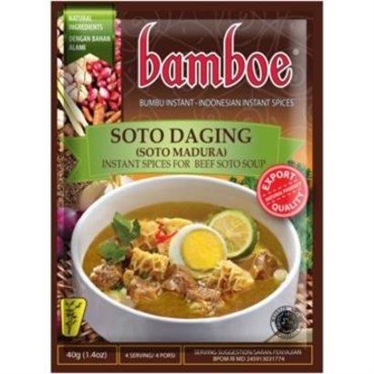 Bamboe Bumbu soto madura pasta