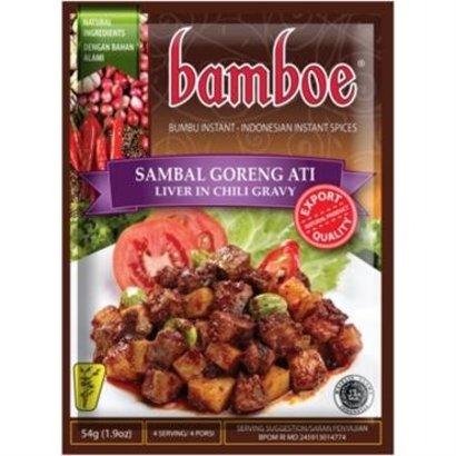 Bamboe Bumbu sambal goreng ati pasta