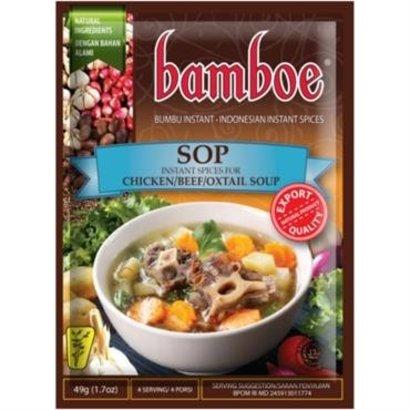 Bamboe Bumbu sop pasta