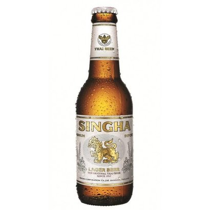 Singha 5% Thaise singha bier