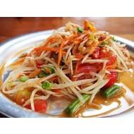 Recepten Thaise papaya salade