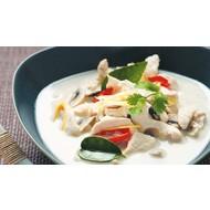 Tom kha kai ( Thai kokossoep met kip)