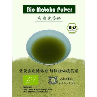 Aha Tee Bio Matcha pulver 50g